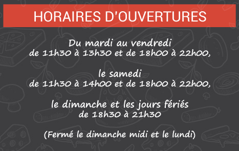 Horaires Pizzeria orchies nord